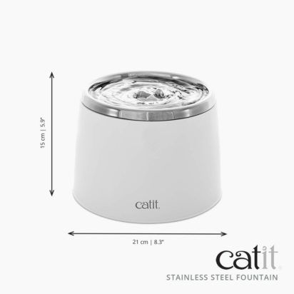 Catit Fresh & Clear Stainless Steel