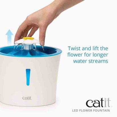 Catit LED Flower Fountain